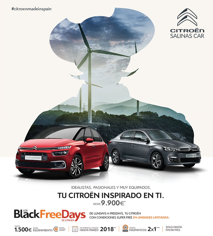 BlackFreeDays en Salinas Car