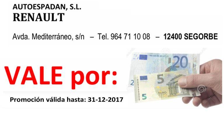 Vale Regalo por 25€