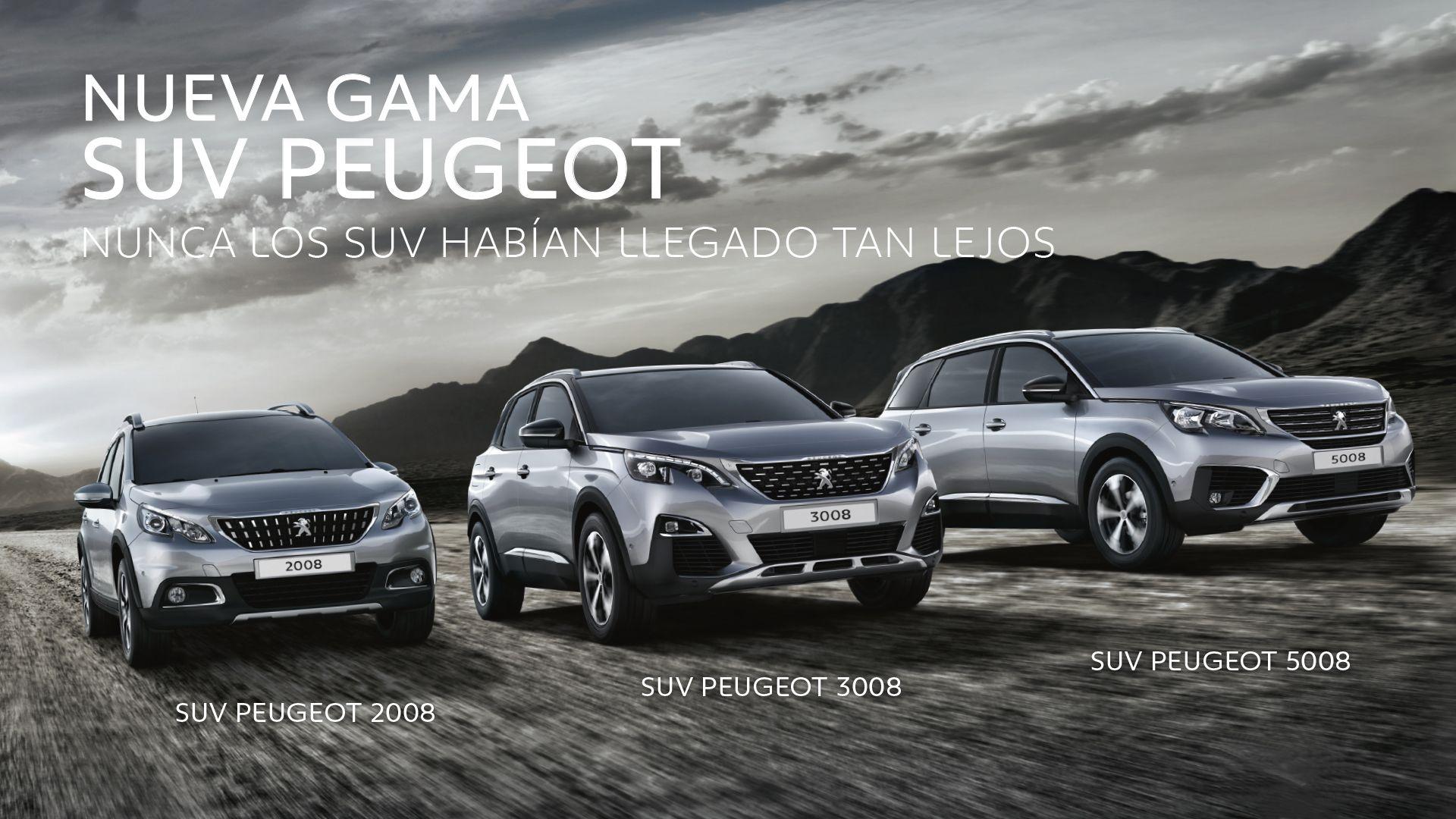 Los SUV Peugeot, la marca favorita de los españoles