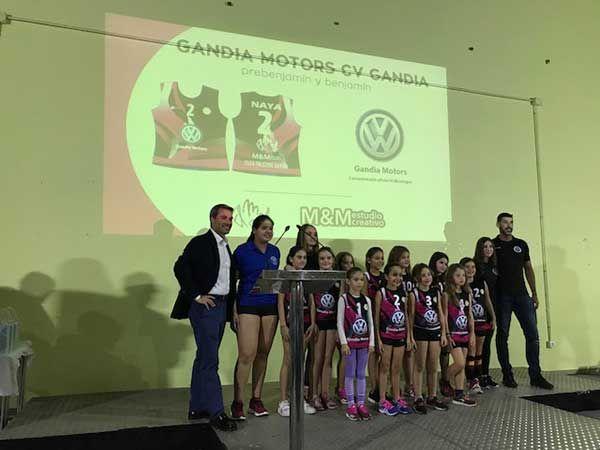 Presentación del Club Voleibol Gandía