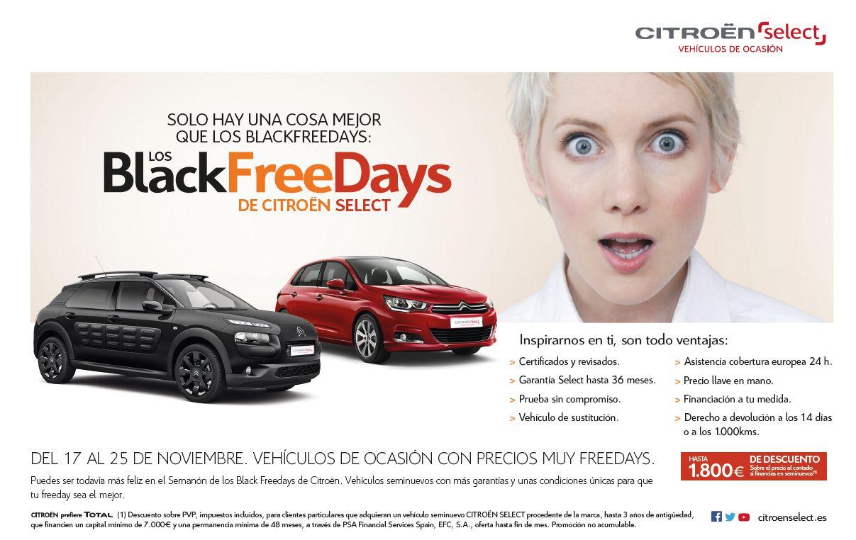 BLACK FREE DAYS EN CIRMAUTO
