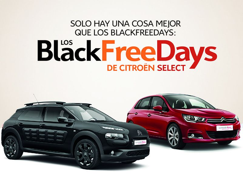 Los Black Free Days en Citroën Select Salinas Car
