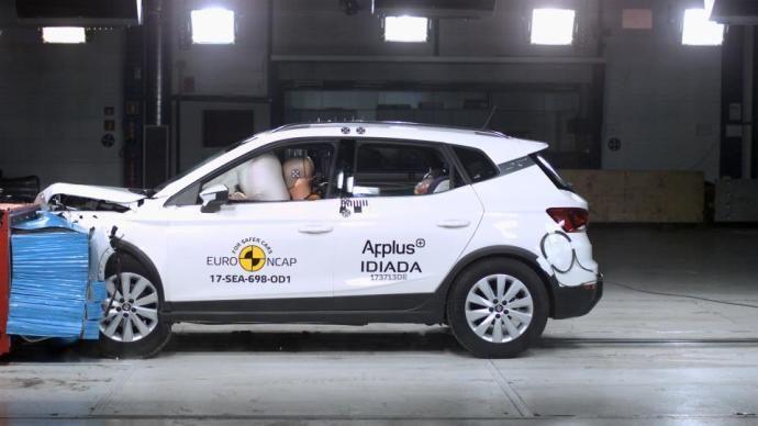 El Seat Arona obtiene 5 estrellas EuroNCAP