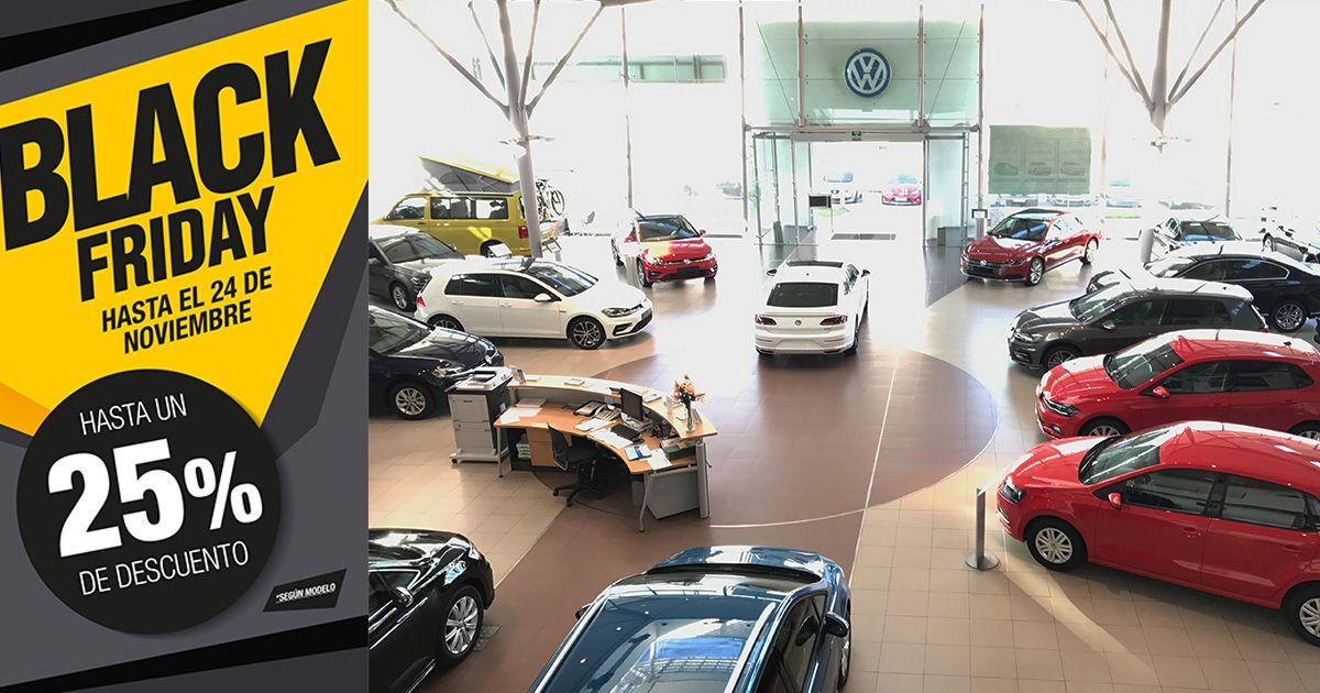 Hasta un 25% de descuento en el Black Friday de Automóviles Sánchez Volkswagen Coruña