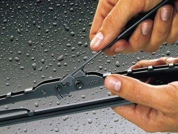Para una visibilidad óptima: limpiaparabrisas Bosch
