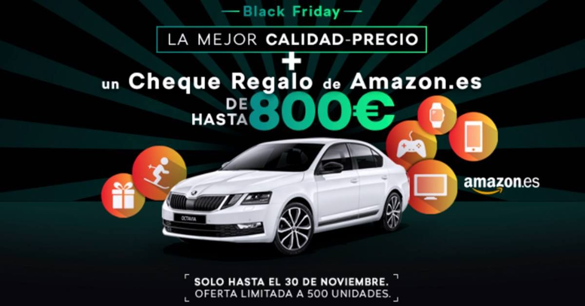 Disfruta del Black Friday de Skoda