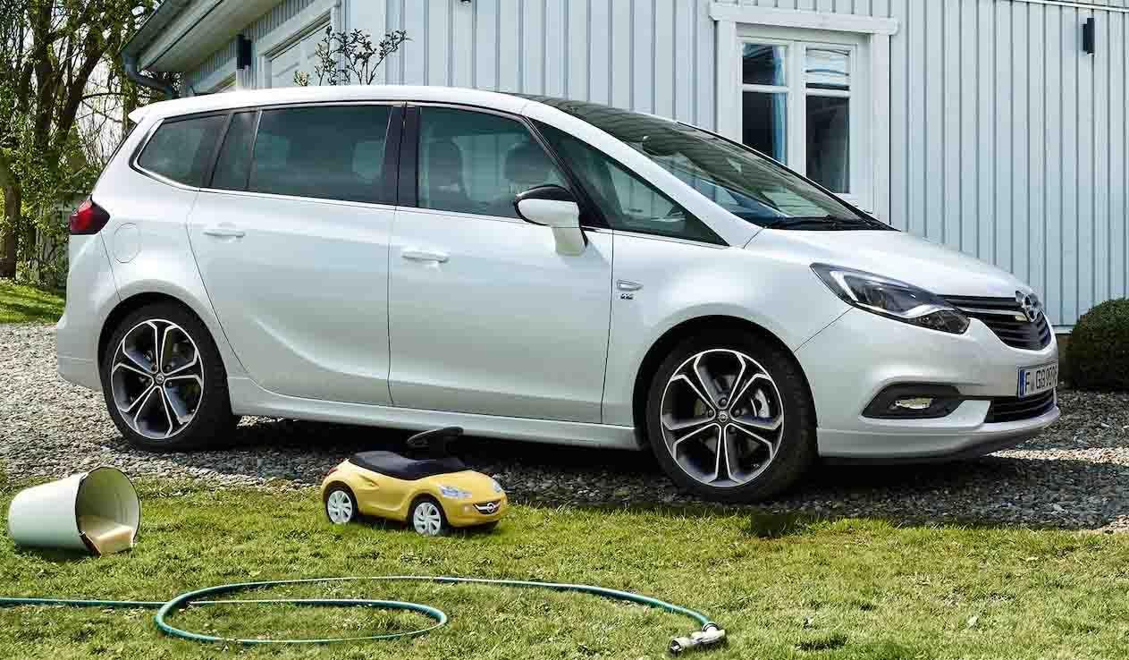 Opel Zafira 7 plazas, el coche perfecto para familias numerosas.
