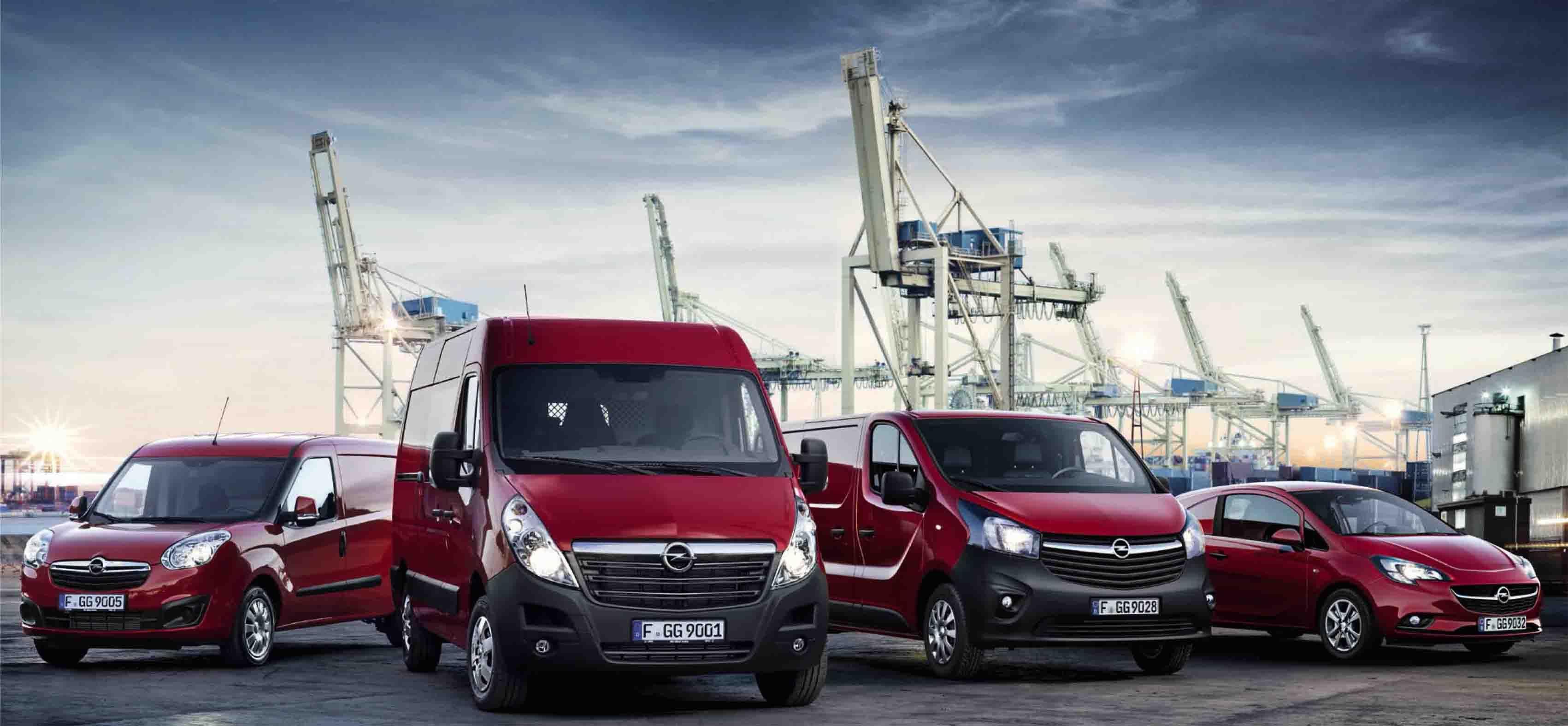 La mejor solución para tu negocio. Vehículos comerciales Opel.