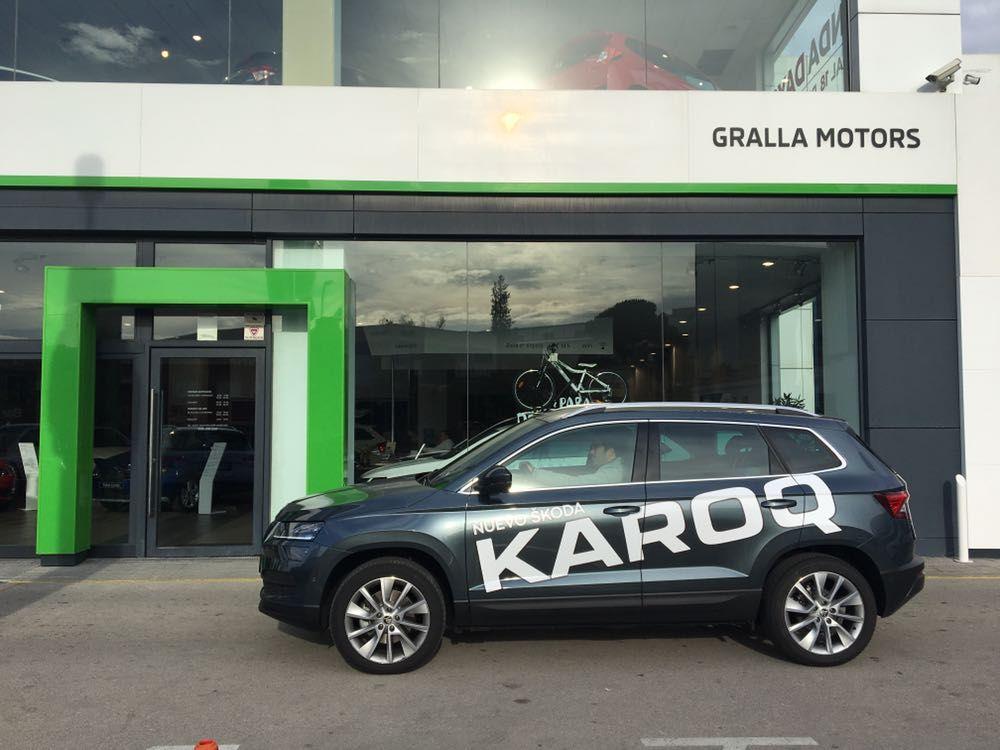 El nou Skoda Karoq fa parada a Gralla Motors