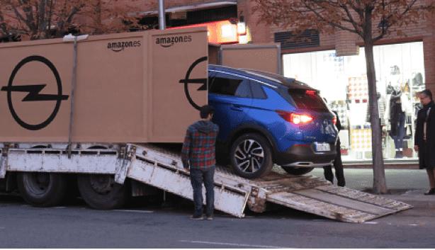 Entregado el primer Opel Grandland X a través de Amazon.es