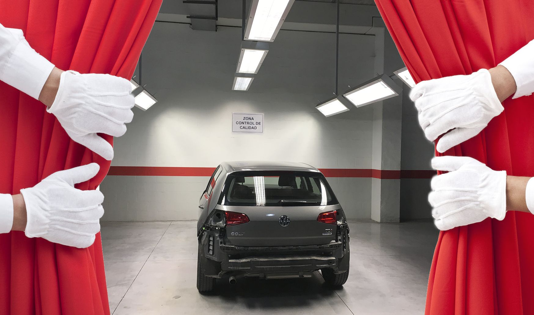 En Automóviles Sánchez sometemos nuestro trabajo de chapa y pintura a las pruebas más exigentes