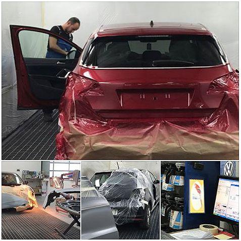 Compromiso medioambiental y coches bien pintados en Automóviles Sánchez
