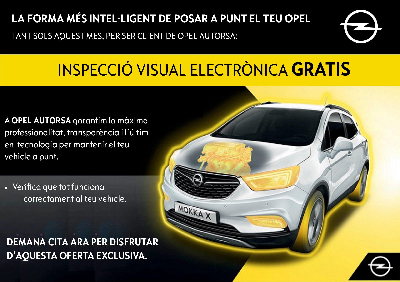INSPECCIÓ VISUAL ELECTRÒNICA GRATUÏTA