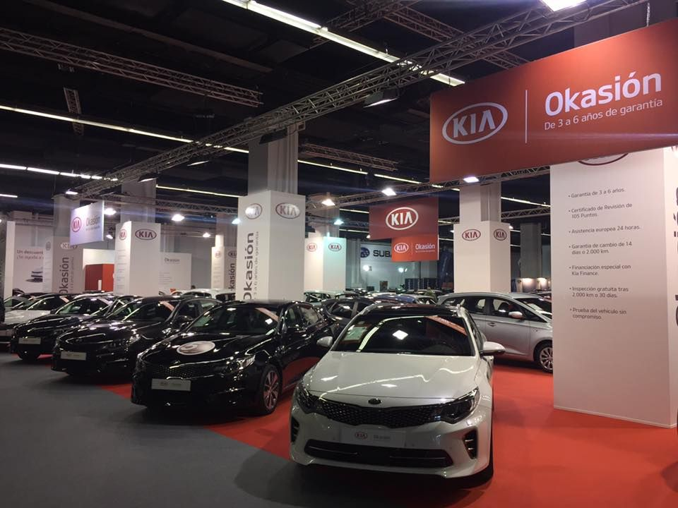 Kia en Salón del Vehículo de Ocasión Barcelona 2017