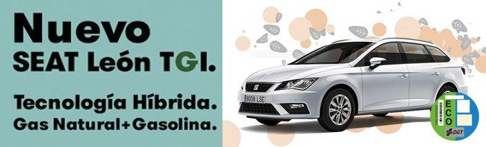Nuevo SEAT León TGI con tecnología híbrida ahora por solo 5€* al día