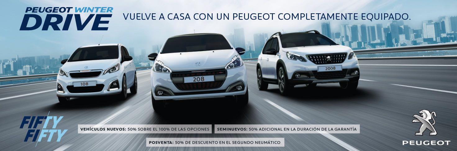 Oferta Peugeot Dimonorte FIFTY FIFTY