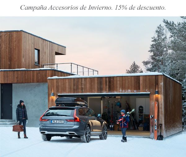 Campaña Volvo de accesorios de invierno y nieve 2017/2018