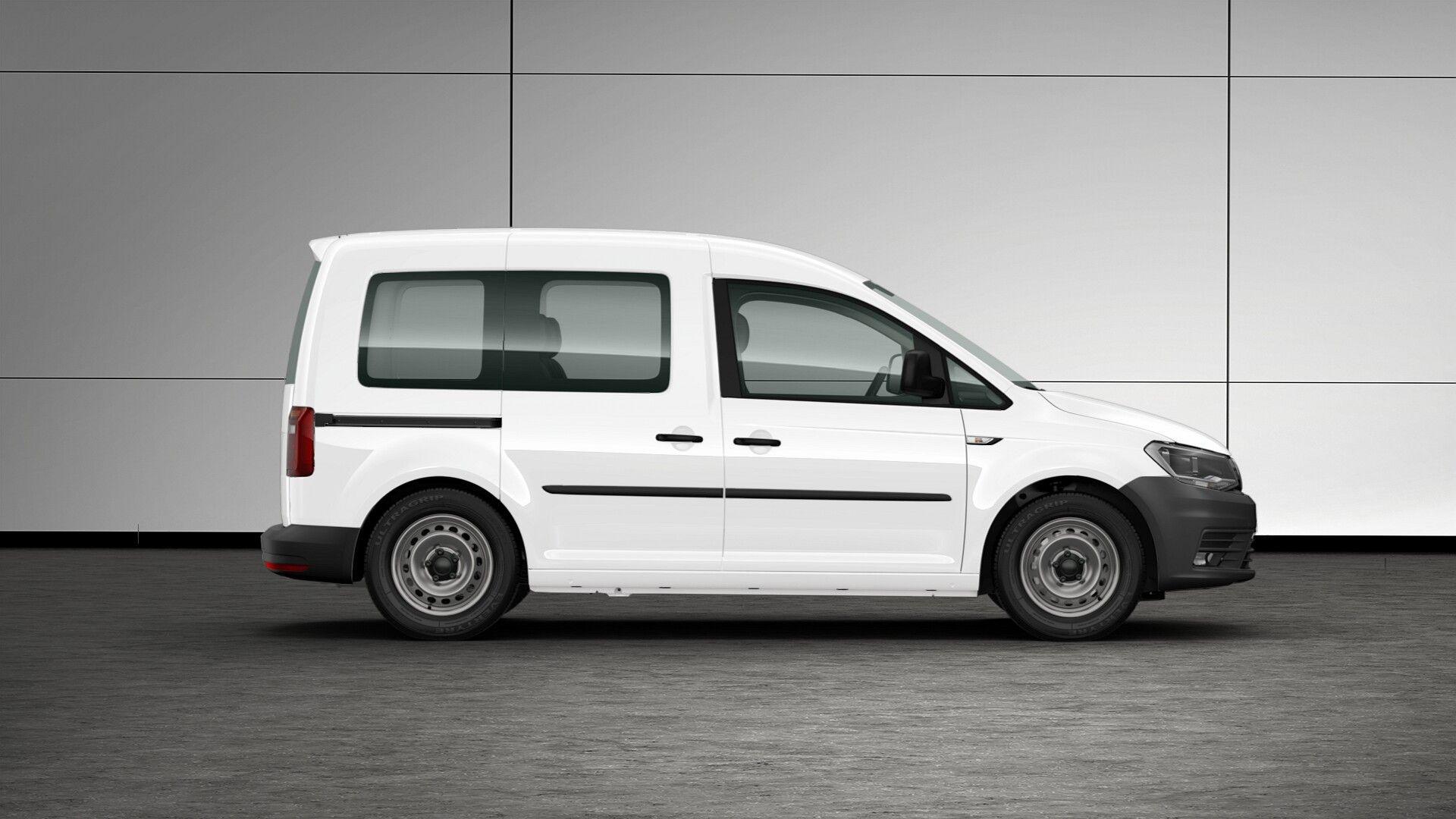 OFERTA ESPECIAL VEHÍCULOS COMERCIALES DICIEMBRE. Caddy Kombi 5 plazas 2.0 TDI 102CV color blanco. Antes 22.700 €, ahora 16.650 €