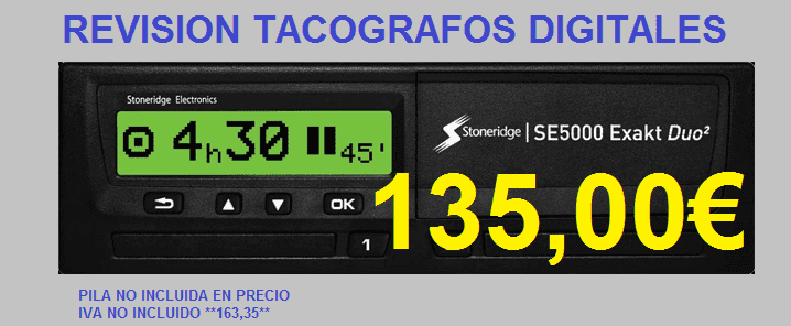 TACOGRAFOS DIGITALES