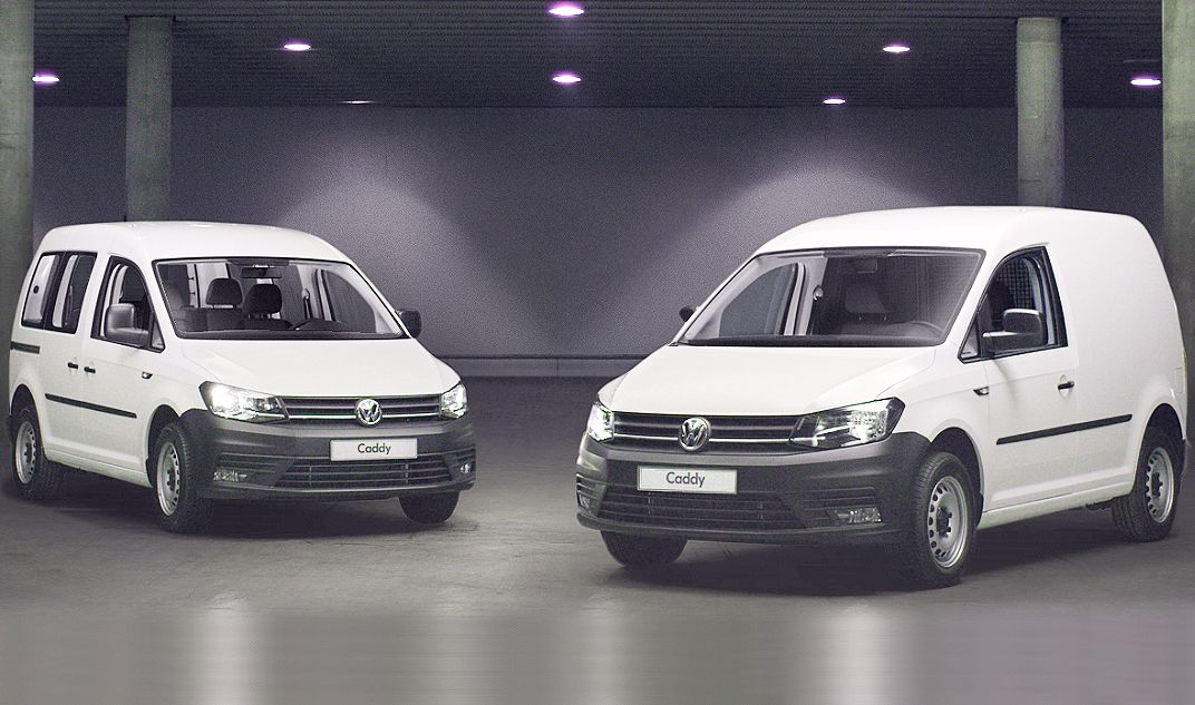 Renting Modular, tu movilidad a tu manera. CADDY 2.0 TDI Furgón 75CV EU6 o CADDY 2.0 TDI Kombi 75CV por 190€/mes*