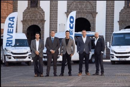 IVECO RIVERA hace entrega de la nueva flota de autobuses a Abianyera BUS