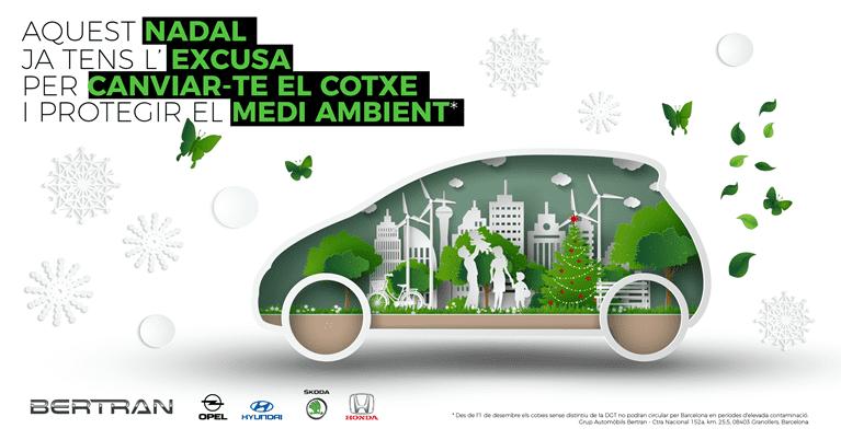 Aprofita els descomptes especials de cap d'any per estrenar cotxe i protegir el medi ambient
