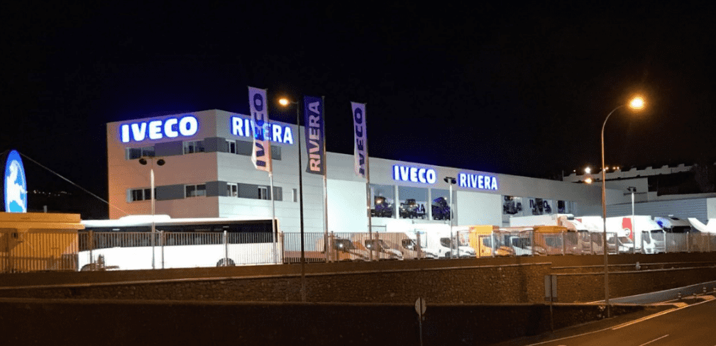 Las Nuevas Instalaciones de IVECO RIVERA en Tenerife, ya son una realidad