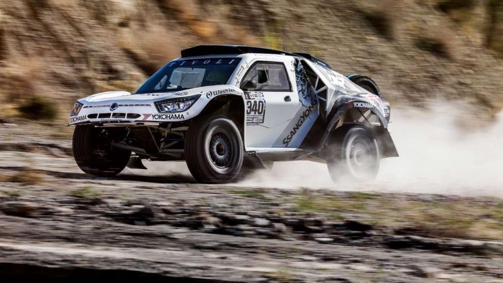 SsangYong participará en el Dakar 2018 con el Tivoli DKR