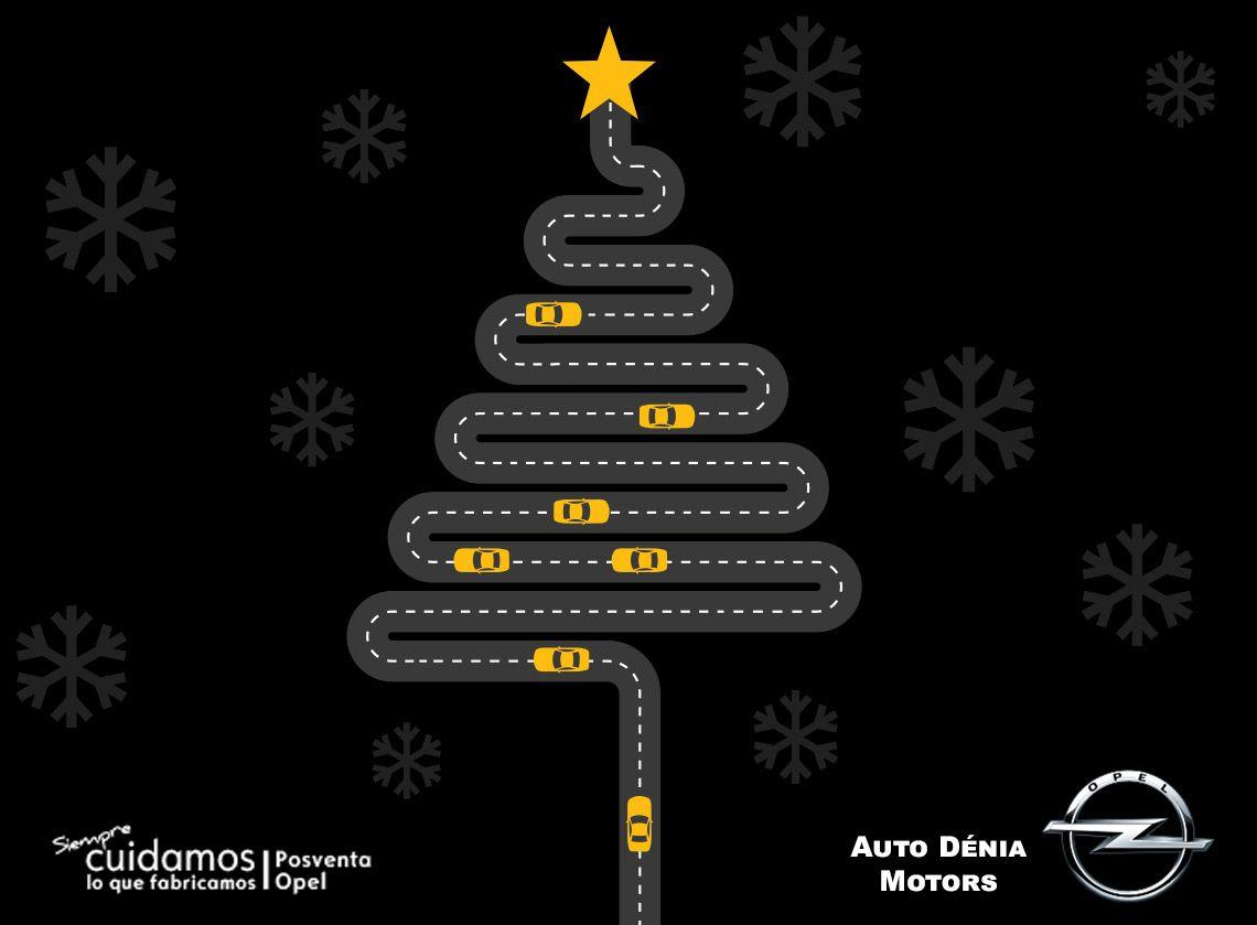 Opel Auto Dénia Motors les desea Feliz Navidad y Próspero 2018