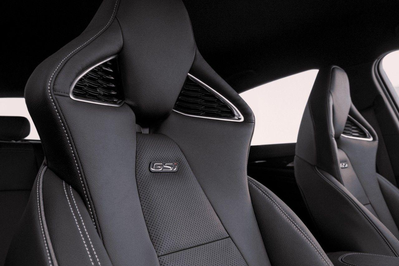 Nuevos asientos deportivos Opel performance: hechos a medida del Insignia GSi