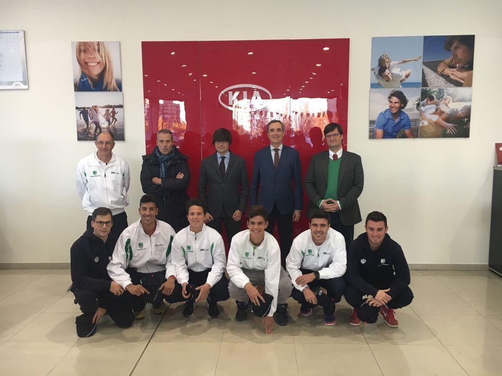 Kia Autosalduba, patrocinador de la sección de Tenis y Pádel de Stadium Casablanca