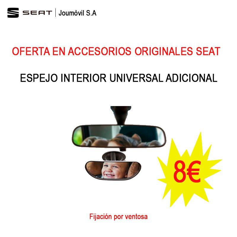SEAT: OFERTA ESPEJO INTERIOR ADDICIONAL