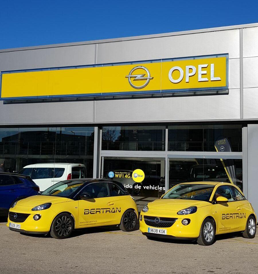Opel Automòbils Bertran amplia sus servicios en taller