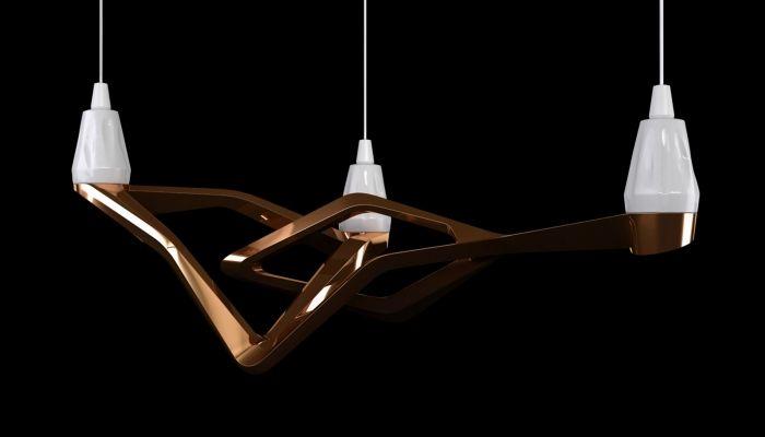 Lámparas Onyx: un trío que desafía las alianzas de materiales