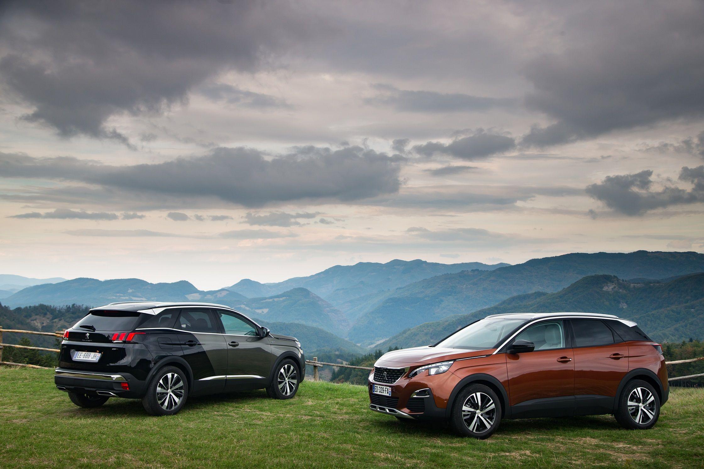 Peugeot se consolida en 2017 como referencia en la gama SUV