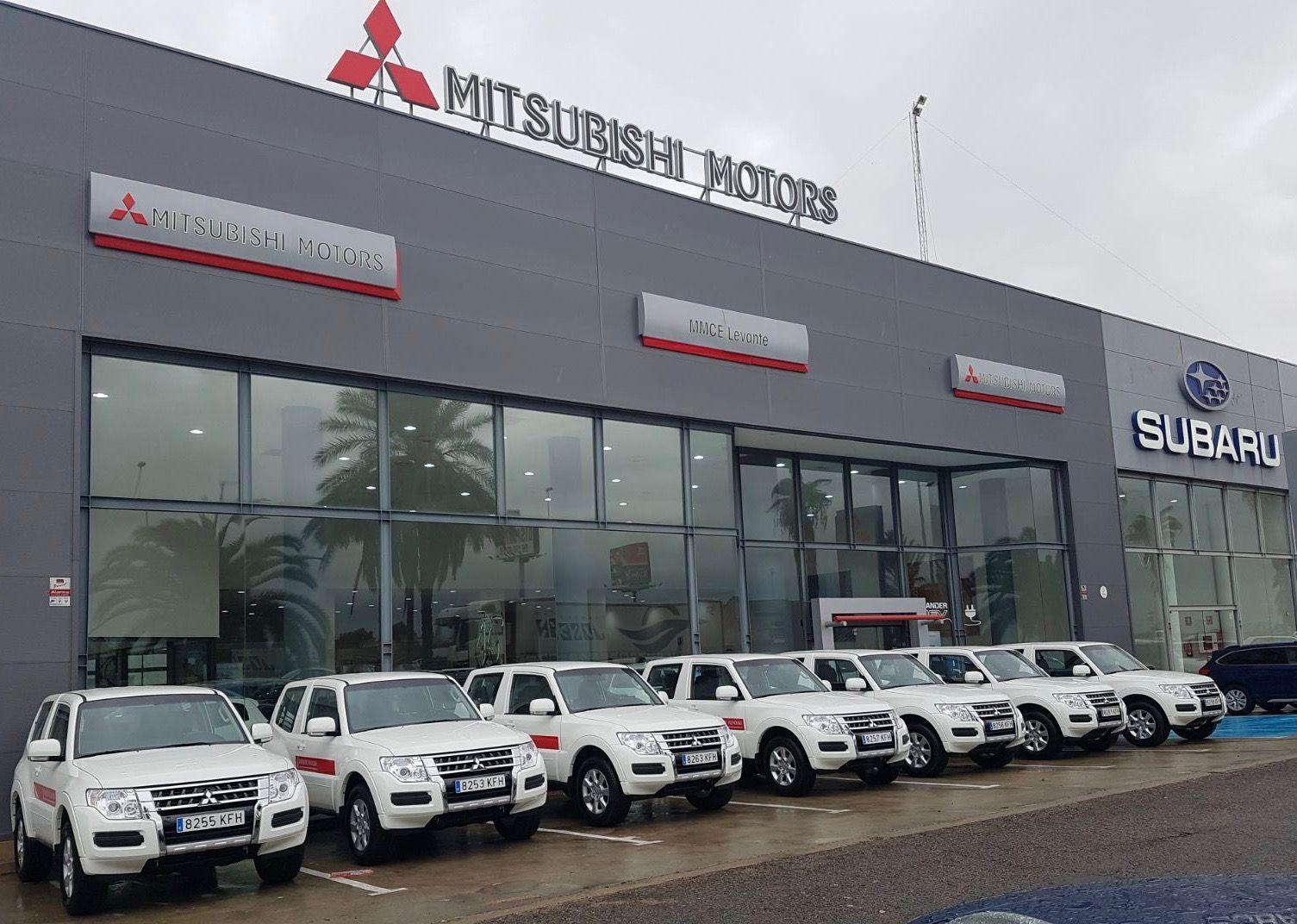 Mitsubishi Levante entrega una flota de Monteros a la Generalitat Valenciana