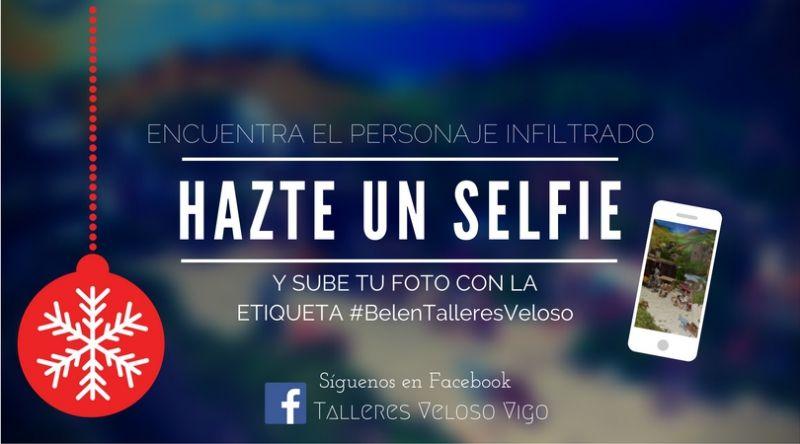 """Concurso de Navidad """"Hazte un Selfie""""."""