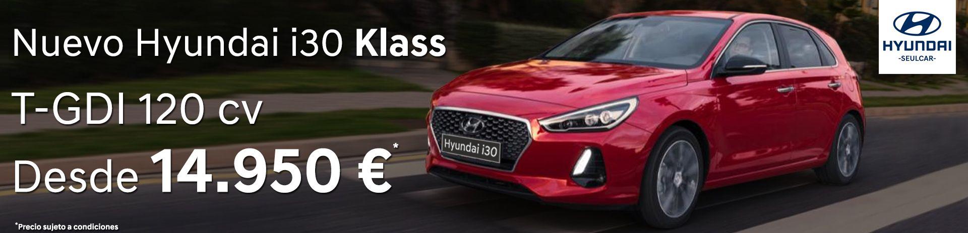Llévate un Hyundai i30 Nuevo T-GDI de 120 cv