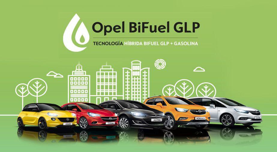 Opel BiFuel GLP: el vehículo más sostenible.