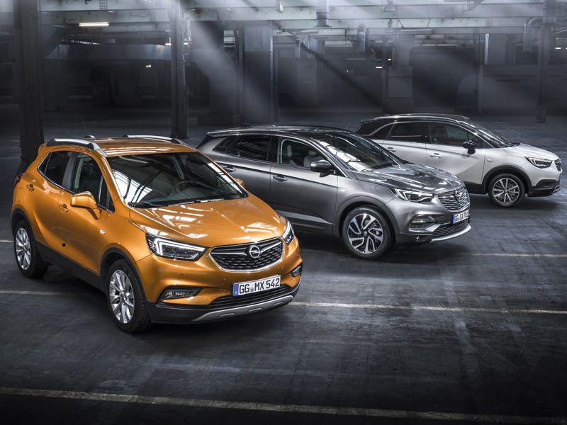 X, la completa gama SUV de Opel