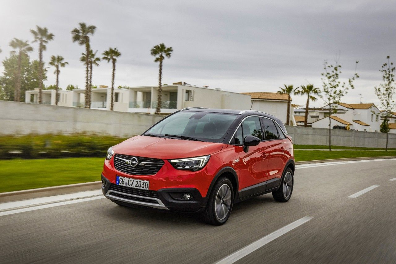 "El Opel Crossland X calificado como ""Best in Class 2017"" por Euro NCAP"