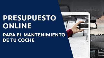 PRESUPUESTO ONLINE PARA EL MANTENIMIENTO DE TU COCHE