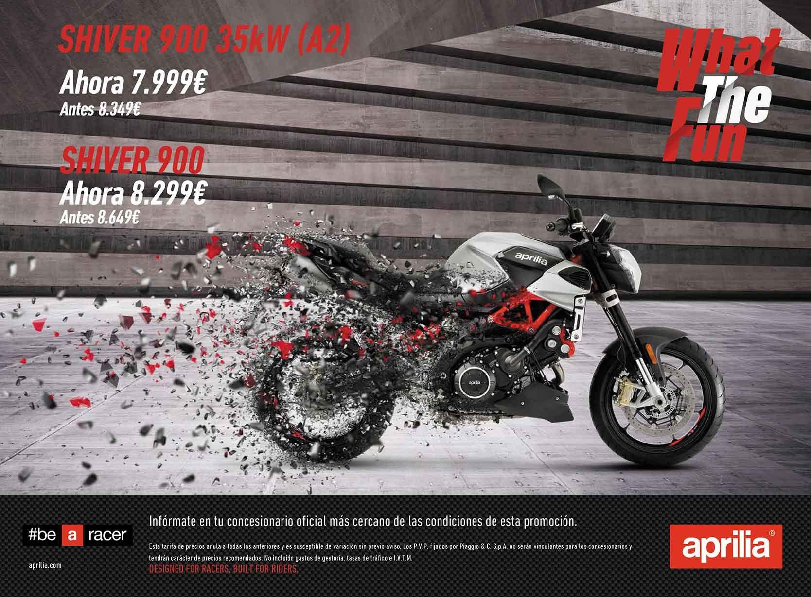 Promoción Aprilia Shiver 900