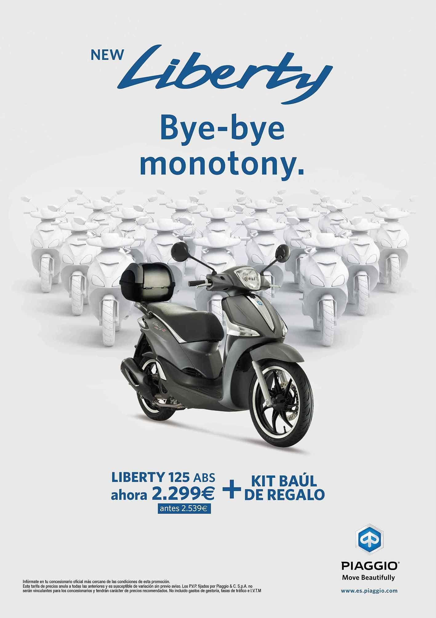 Rebajas en Piaggio Liberty 125 ABS