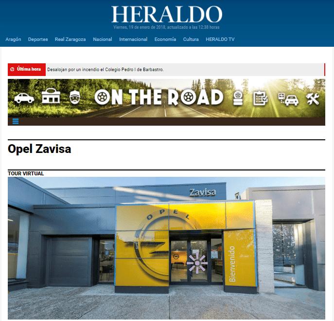 El HERALDO DE ARAGÓN SE HACE ECO DE NUESTRAS NOVEDADES