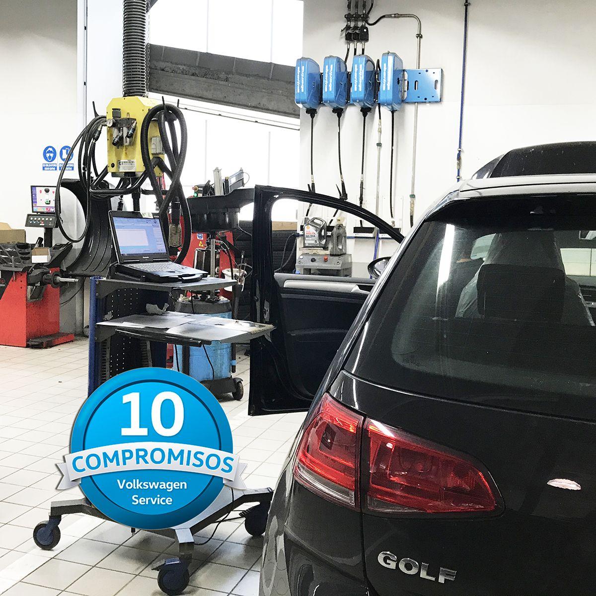 Los Compromisos Volkswagen Service de Automóviles Sánchez