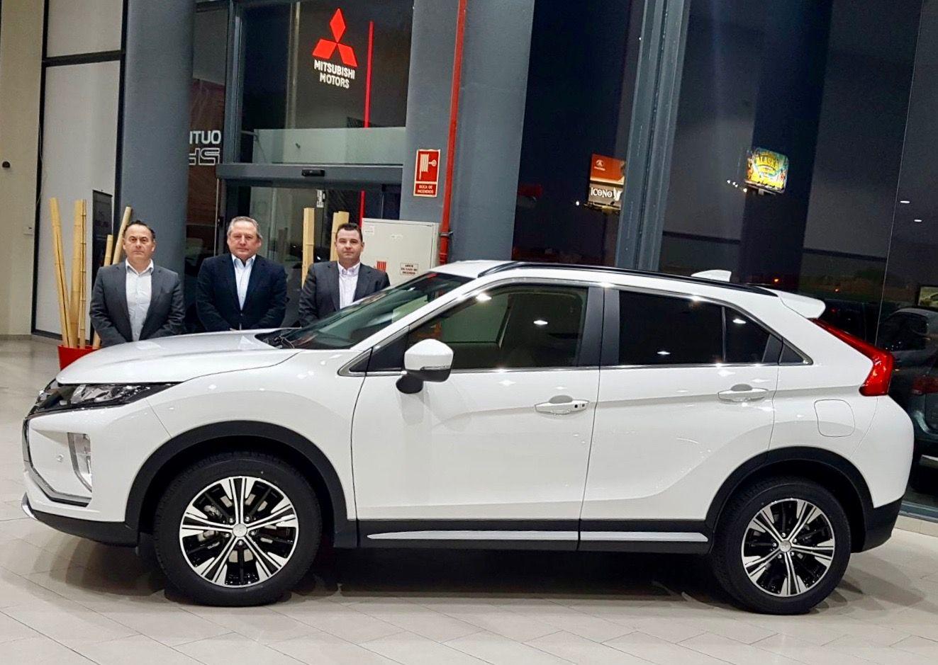 El nuevo Mitsubishi Eclipse Cross ya ha llegado a Valencia