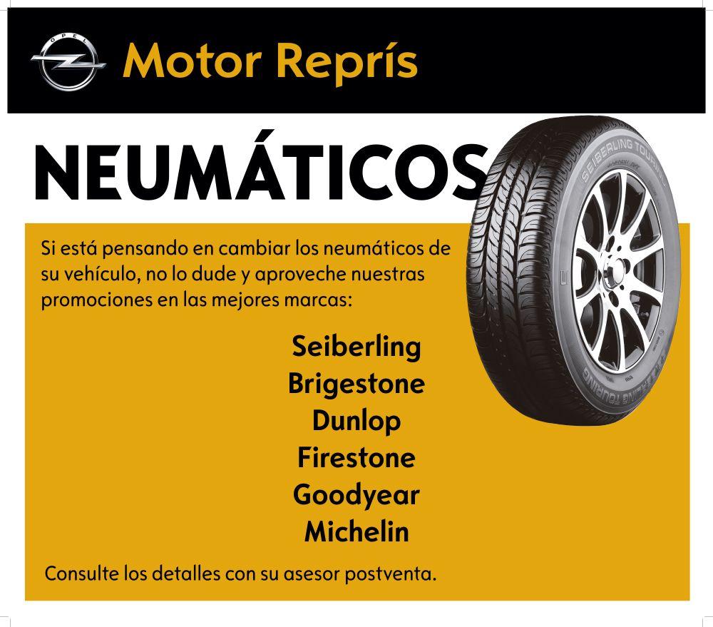 Nous neumàtics a Opel Motor Reprís