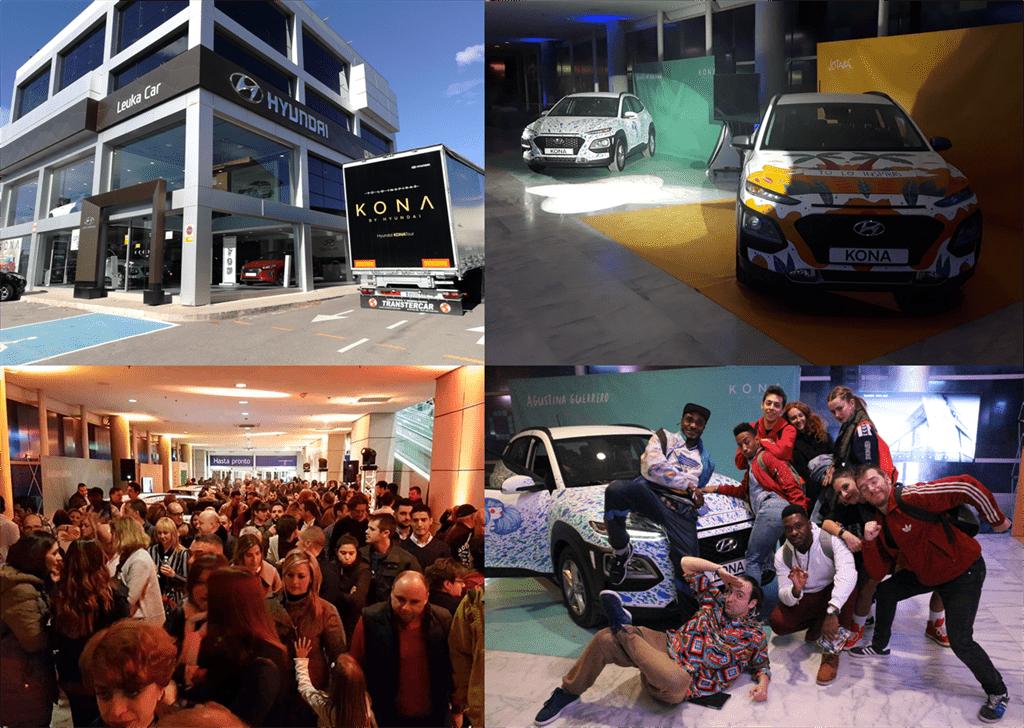 Evento presentación Hyundai Kona (KONA TOUR)