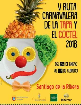 Patrocinador oficial de la ruta de la tapa y el cocktail de Santiago de la Ribera